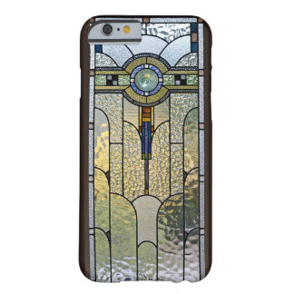Art Deco Stained Glass Window iPhone 6 case Barely There iPhone 6 Case