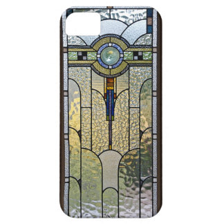Art Deco Stained Glass Window iPhone Cover Case For The iPhone 5