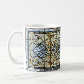 Art Deco Stained Glass Window Mug