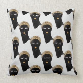 "Art Deco Style Polyester Throw Pillow 20"" x 20"""