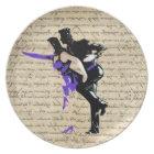 Art Deco style vintage dancers Plate