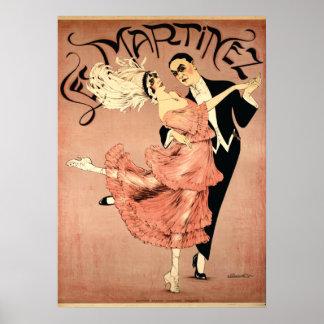 Art Deco ~ Tango Dancers 1920 Poster