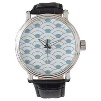 Art deco,teal,white,vintage,shell pattern,1920 era wristwatches