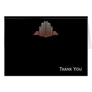 Art Deco Tower Card