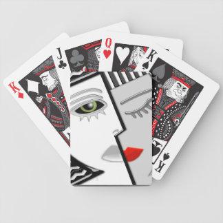 Art Deco Two-Faced Janus Poker Deck