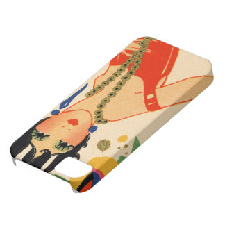 Art Deco Vamp, 1920s Flapper iPhone 5 Covers