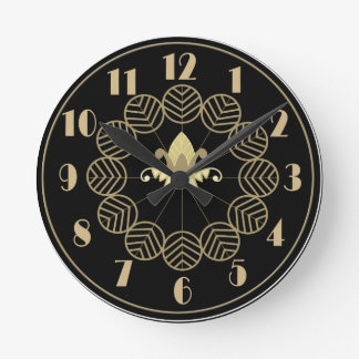 Art Deco Wallclock