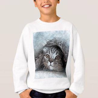 art design cat sweatshirt