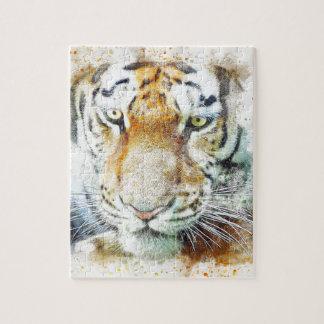 art design tiger jigsaw puzzle
