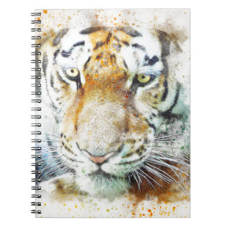 art design tiger notebook