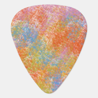 Art Digital Painting Abstract Dry Chalk Pastels Guitar Pick