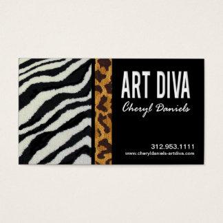 Art Diva Graphic Designer Business Card