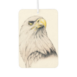 Art Drawing Of  Eagle Car Air Freshener