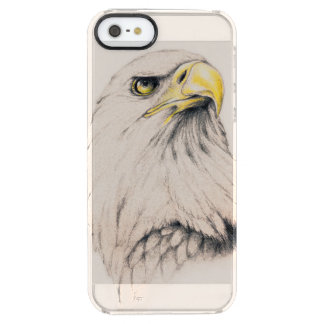 Art Drawing Of  Eagle Clear iPhone SE/5/5s Case