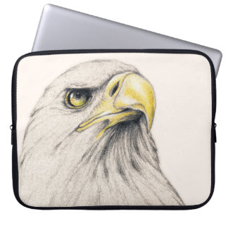 Art Drawing Of  Eagle Computer Sleeve