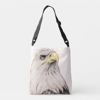 Art Drawing Of  Eagle Crossbody Bag