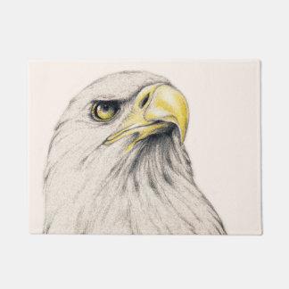 Art Drawing Of  Eagle Doormat