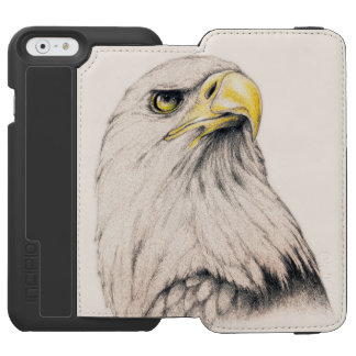 Art Drawing Of  Eagle Incipio Watson™ iPhone 6 Wallet Case