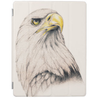 Art Drawing Of  Eagle iPad Cover