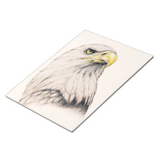 Art Drawing Of  Eagle Notepad