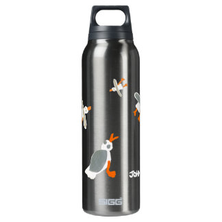 Art Drink Bottle: John Dyer Seagulls SIGG Thermo 0.5L Insulated Bottle