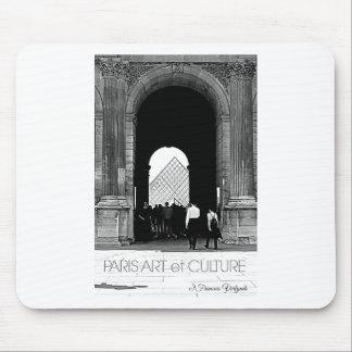 Art et culture d'auvent de Paris Tapis De Souris