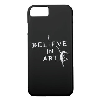 Art Fairy: I Believe In Art iPhone 8/7 Case