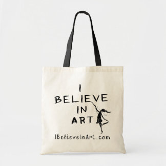 Art Fairy: I Believe In Art Promotional Tote Bag