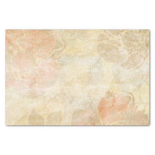 art floral grunge background pattern tissue paper