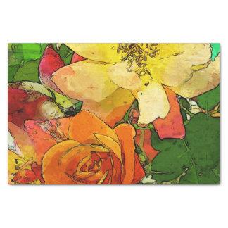 art floral vintage colorful background 2 tissue paper