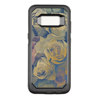 art floral vintage colorful background OtterBox commuter samsung galaxy s8 case