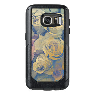 art floral vintage colorful background OtterBox samsung galaxy s7 case