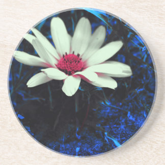 Art flower coasters