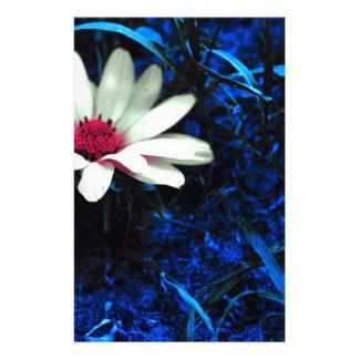 Art flower custom stationery