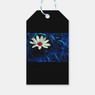 Art flower gift tags
