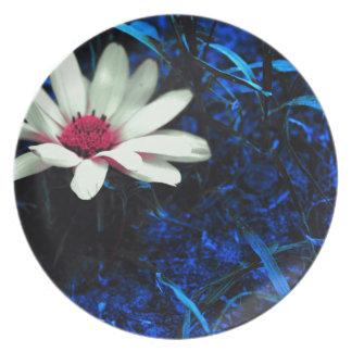 Art flower plate