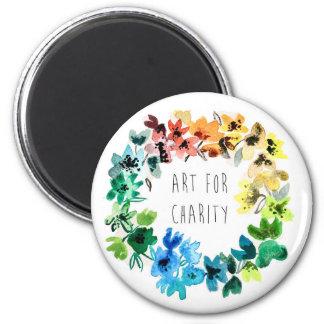 art for charity magnet