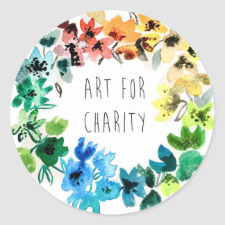 art for charity sticker