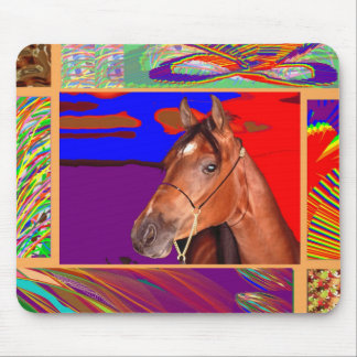 Art for HORSE Sense Mouse Pad