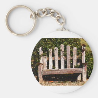 Art From Photography: Sitting Pretty Basic Round Button Keychain