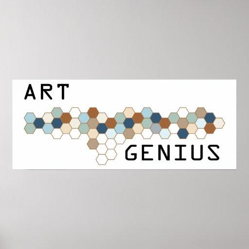 Art Genius Print
