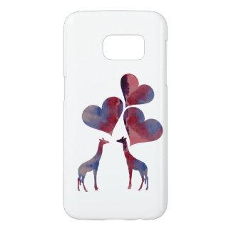 Art Giraffes Samsung Galaxy S7 Case