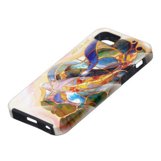 Art Glass Japanese Koi Fishing Cool Case For The iPhone 5
