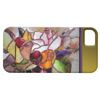 Art Glass Luxury Flower Barely There iPhone 5 Covers