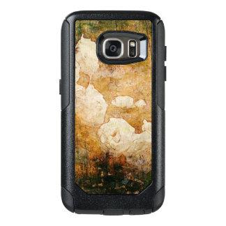 art grunge floral vintage background texture OtterBox samsung galaxy s7 case