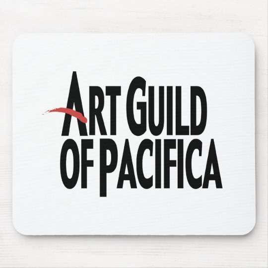 Art Guild of Pacifica Mouse Pad