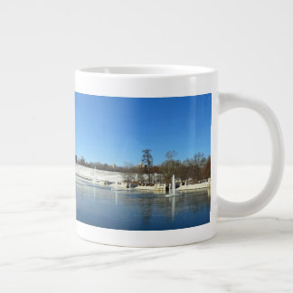 Art Hill in Forest Park St. Louis Large Coffee Mug