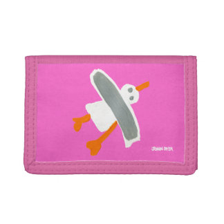 Art Home: John Dyer Cornish Seagull Wallet Pink