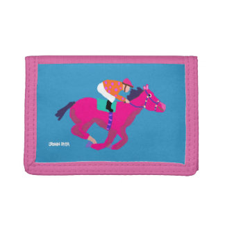 Art Home: John Dyer Horse Racing Wallet