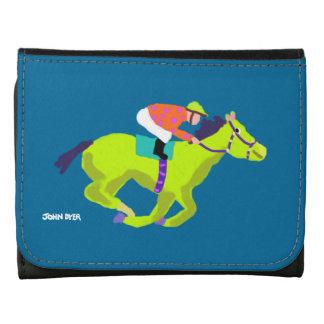 Art Home: John Dyer Horse Racing Wallet Leather